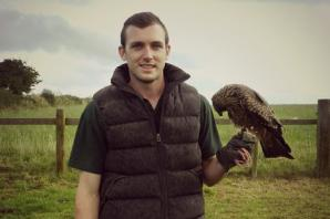 Local Falconer raises awareness through education and conservation