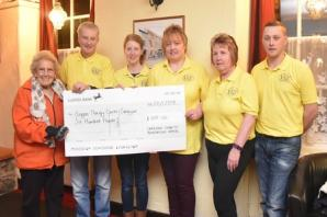 £600 raised for therapy centre